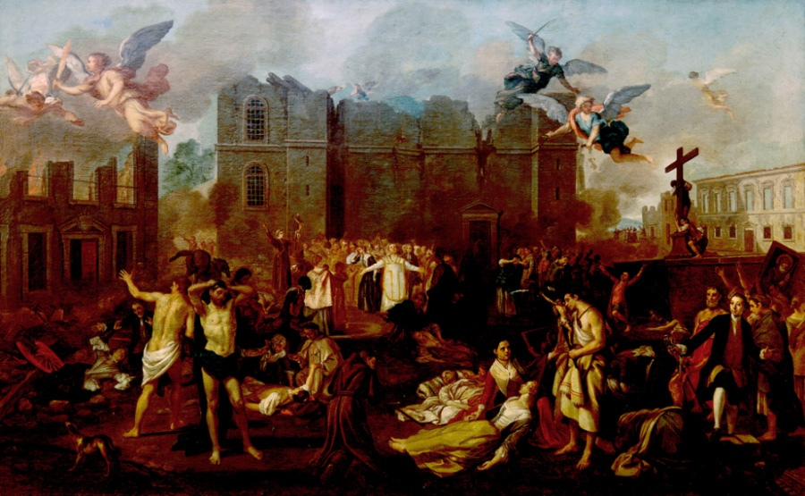 Allegory Of The 1755 Earthquake Joao Glama Stroberle