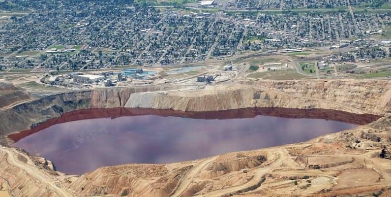Berkeley Pit Butte Montana