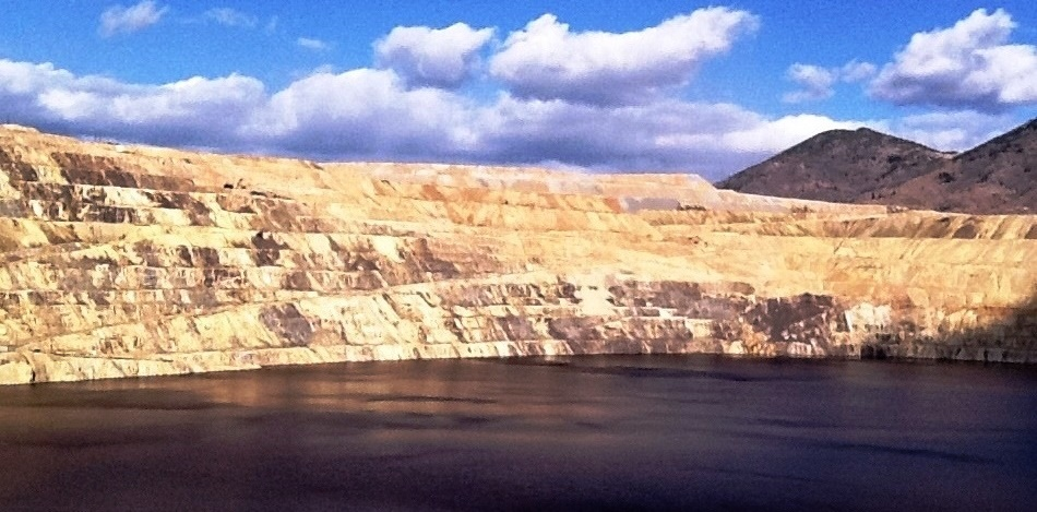 Berkeley Pit View From Viewing Stand