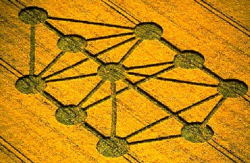 Cropcircle Baryburycastle Wiltshire