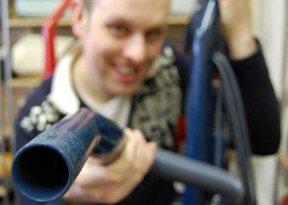 Mr James Brown  Vacuum Cleaner