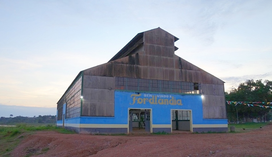 Old Factory Building At Fordlandia