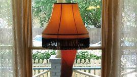 Leg Lamp At A Christmas Story House
