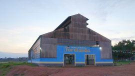 Old Factory Building At Fordlandia