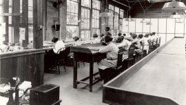 The Radium Girls Painting Dials In A United States Radium Corporation Factory