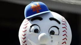 Mr Met Crying