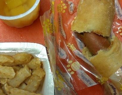 Bageldog Fries Fruitcup