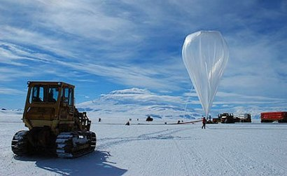 Balloonlaunch Antarctica