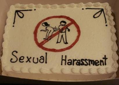 Cakewrecks Sexual Harassment Cake