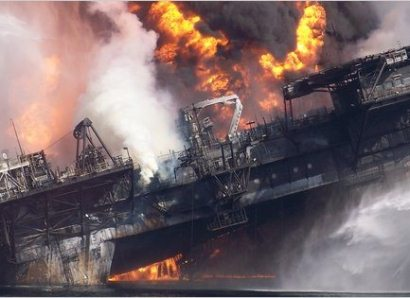 a sea in flames the deepwater horizon oil blowout