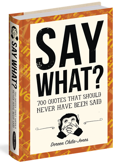 Say What Doreen Chila Jones Book Cover