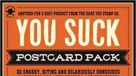 You Suck Postcard Pack Book