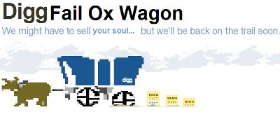 Digg Fail Ox Wagon
