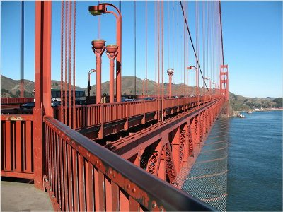 Golden Gate Suicide Net