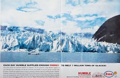 Humble  Oil Ad  Life 1962
