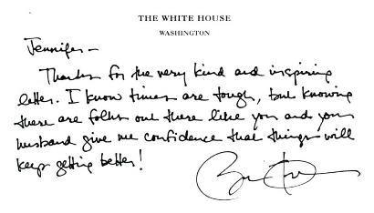 Obama  Cline  Letter