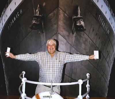 Titanic Ii Clive Palmer
