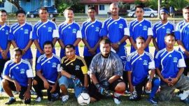 Micronesia Football Team 2015