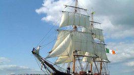 Jeanie Johnston Sailing