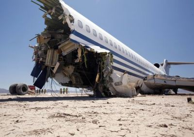 Discovery Curiosity Plane Crash