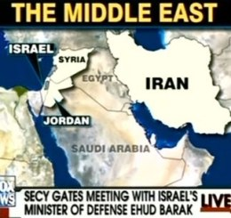 Fox News Map Fail