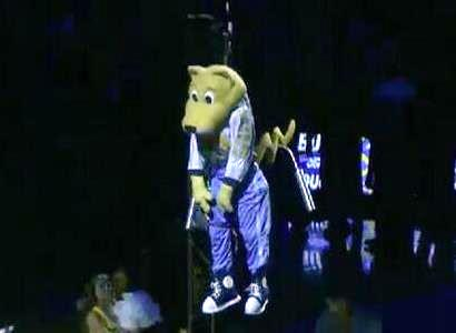 Rocky  Denver  Nuggets Mascot