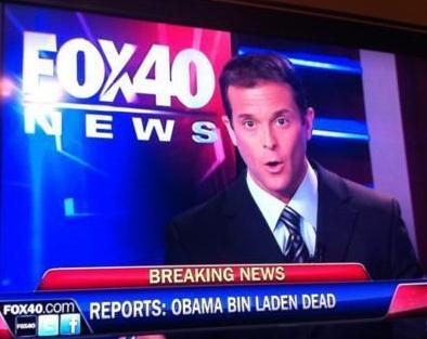 Obama Bin Laden Dead Headline Fail